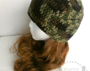 ALL SIZES Camo Beanie