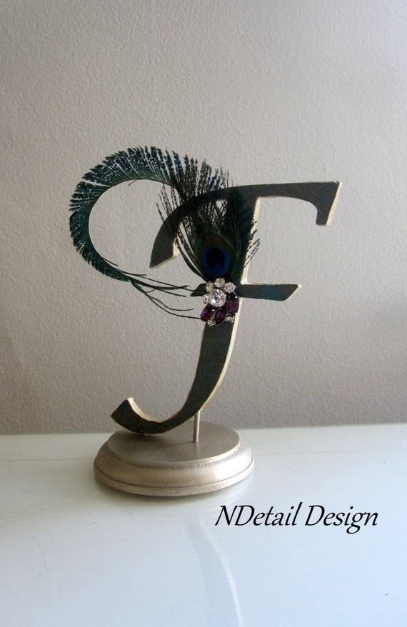 Items similar to Gatsby and Art Deco Wedding Cake Topper ...