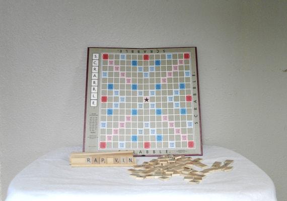 Vintage Scrabble Board Game