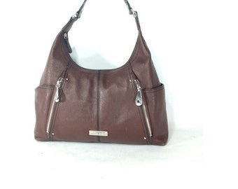 Brown Leather Hobo Bag - 90s Slouchy Leather Shoulder Bag - Brown Leather Purse