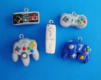 Nintendo Controller Charm Necklace