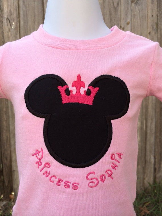 Items similar to mickey or minnie mouse personalized for Personalized polo shirts for toddlers