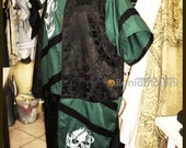 Warrior two-tone button tunic Renaissance Reenactment Sca MADE TO ORDER