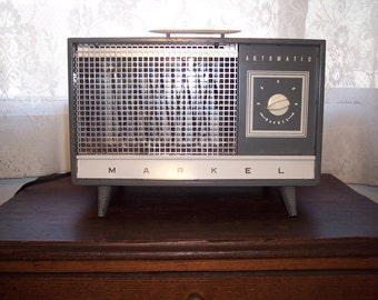 Markel heater vintage electric space heater mid-century industrial