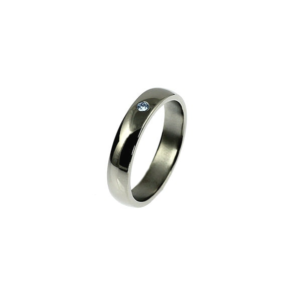 simple blue wedding band white gold yellow gold