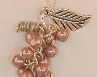 Pink Grapes Pendant