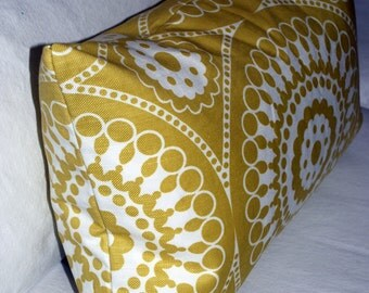 Groundworks Lee Jofa Marrakech pillow cover. Designer fabric front and back. Ready to ship.