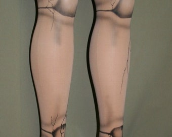 ball joint tights. broken flesh doll ball joint tights custom made for you m