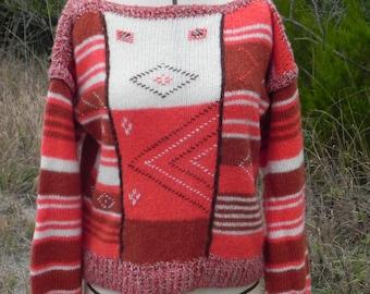 Vintage 1970's Italian Wool Blend Sweater