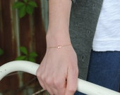 Delicate Rose Gold and To...
