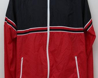 """Rare 80's Vintage """"MAC GREGOR"""" Windbreaker Jacket Sz: X-LARGE (Men's Exclusive)"""