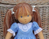 """Special order for Jennifer - Waldorf doll Grace 15-16""""  inches -  gift for girls"""