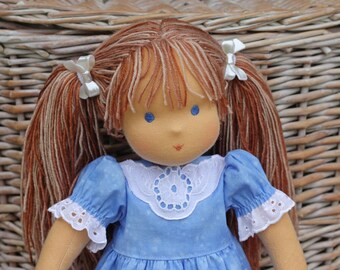 """Waldorf doll classic Grace 15-16""""  inches -  gift for girls"""