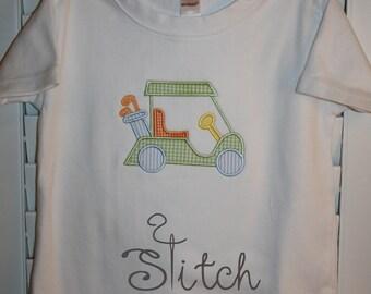 Golf Cart Applique Shirt