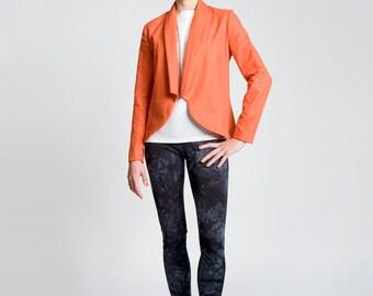 sewing pattern jacket mona: downloadable sewing pattern pdf