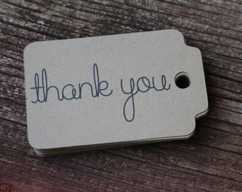 Thank You Tag, Gift Tags, Paper Tags, Thank You, Kraft Tags, Thank You Favors, Packaging Tags