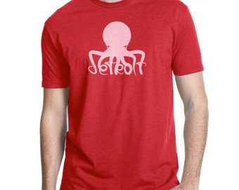 Detroit Red Wings Octopus T-Shirt