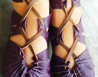 Sandals, Leather Sandals, Handmade Sandals, Womens Sandals, Mens Sandals, Mens Leather Sandals, Purple Sandals, Womens Shoes, Hippie Sandals
