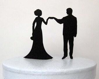 Wedding Cake Topper - Fist Bump Wedding, Fist Bump Cake Topper, Pound It Cake Topper, Fist It Cake Topper