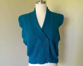Nautical sweater vest