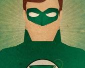 Minimal Heroes: Green Lantern