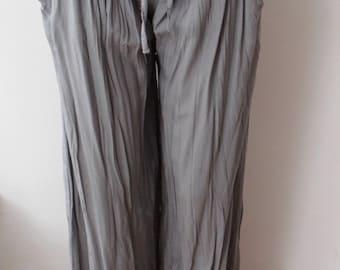 Grey Pants,Summer Pants,Yoga Pants,Cotton Pants