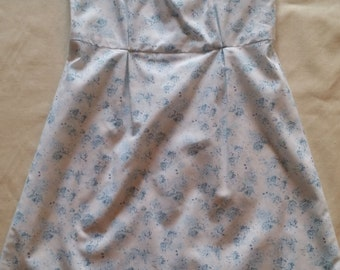 Floral Pinafore Dress - Size 5