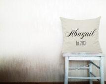 Popular Items For Monogram Pillow Case On Etsy