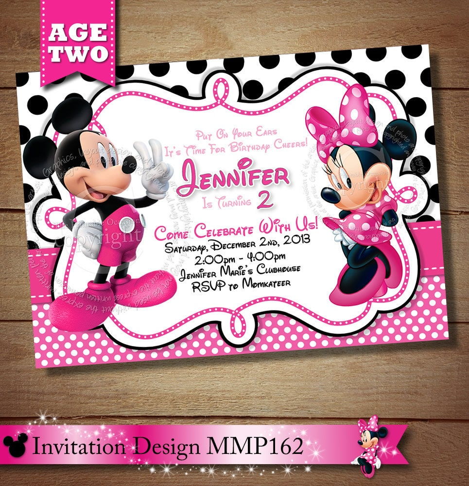 Top 20 Mickey Mouse 2nd Birthday Invitations