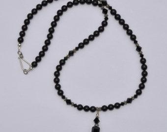 Swarovski Black Pearl Necklace