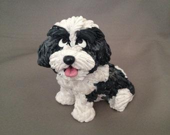 Shih Tzu dog figurine