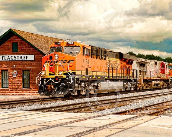 Train Photography, Train Photo,  Railroad Art, Train Print, Kids Train Art, Train Art, Thomas The Train