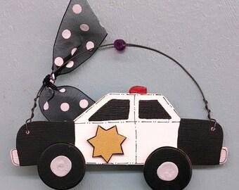 Police Car Christmas Ornament
