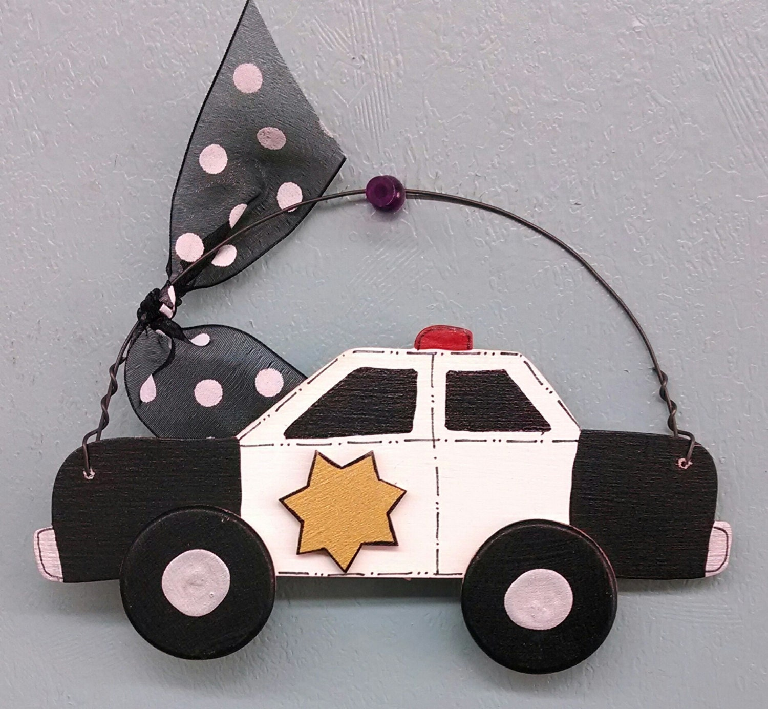 Police Car Christmas Ornament