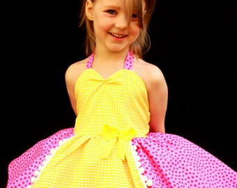Lalaloopsy Inspired Costume Dress