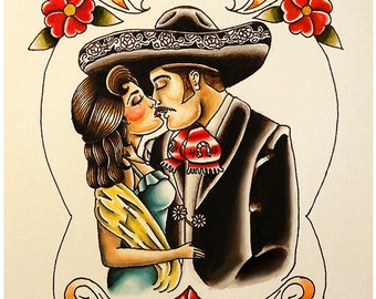 Mexican Couple Prints (2 Sizes)
