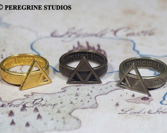 Triforce Ring Collection (Stainless Steel) Legend of Zelda