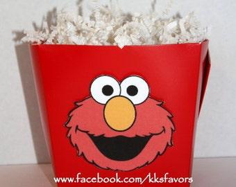 Elmo Favor Boxes - Set of 8