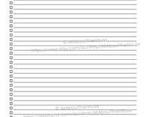 Printable To Do List Rainbow Checklist Planner 2015 2014 Stripe PDF Editable Household Binder Daily Planner Organization tool weekly day