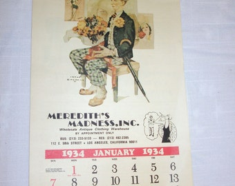 Liberty  Calendar 1979
