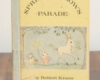Springfellow's Parade Vintage Hardcover Children's Book 1965