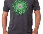 Men's  Psilocybin Journey T shirt (dark variation)