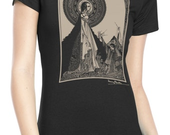 "Ladies' Harry Clarke ""Ligeia"" T Shirt"