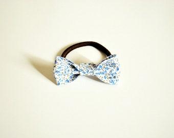 Scrunchie hair bow/ flowers fantasy/ baby girls/ ponytail/ headband handmade/hair accessories