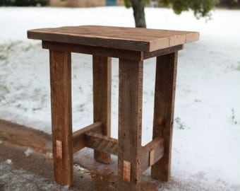Barn Wood Pub Table Trestle Legs | Farmhouse Style Furniture | Cabin Lodge | FREE SHIPPING in the USA