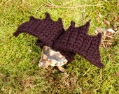 Bat wings tortoise yard finder - made to order, your color choice