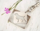 free shipping - German Wirehaired Pointer Charm Jewelry Stainless steel Key Chain
