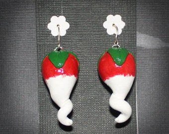 Harry Potter inspired - Luna Lovegood's radish earrings