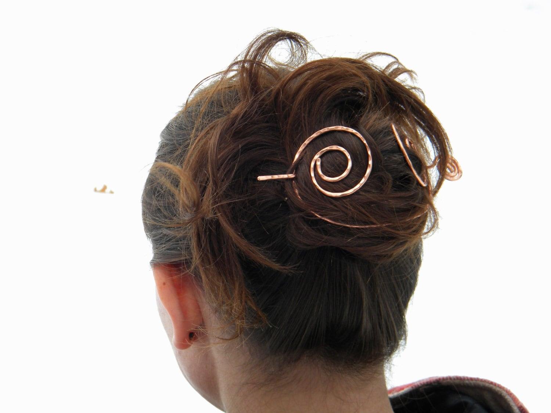 Barrette Copper Hair C...