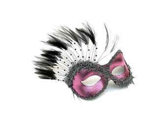 Persuasion Pink Women's Masquerade Mask - A-0774PK-E